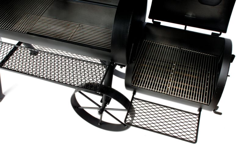 joe s barbeque smoker silver edition 16 texas classic long version. Black Bedroom Furniture Sets. Home Design Ideas