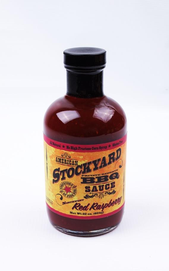 red raspberry bbq sauce american stockyard red raspberry bbq sauce