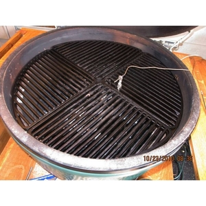 how to clean rusty cast iron grill grates