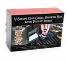 Short Gasol Grill V-Smoker Box med Pellet Tube