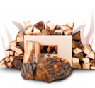 Axtschlag - Smoker Wood - Hickory ved
