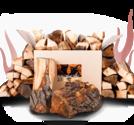 Axtschlag - Smoker Wood - Körsbärsträd ved