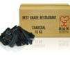 135 Kg Best Grade Restaurant Charcoal - Kol. Fri frakt på pall till din adress